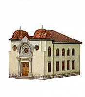 Картонная модель Синагога в Делемоне 327 УмБум