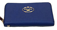 Женский кошелек барсетка Prada 78-2804 синий кожзам