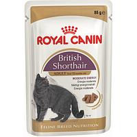 Royal Canin British Shorthair Adult 85 г для британских кошек