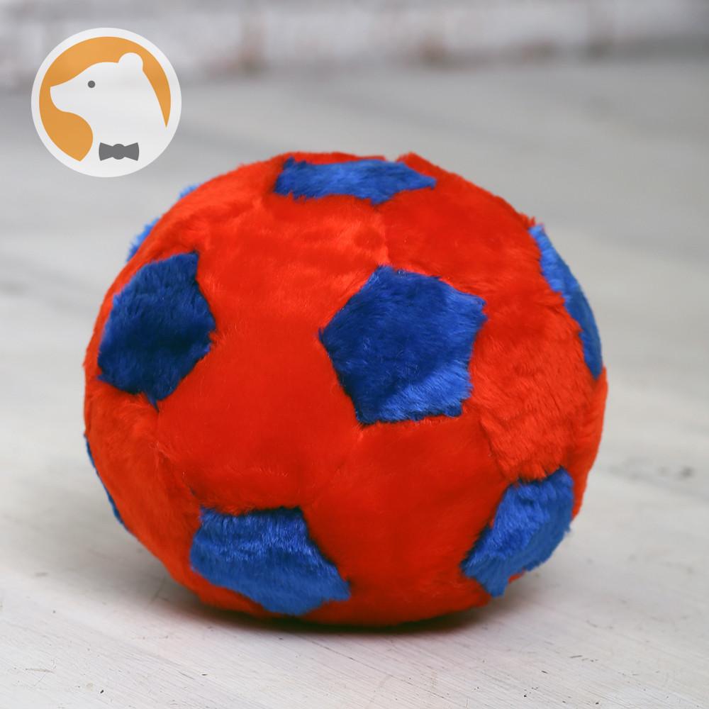 Мяч плюшевый, 22 см