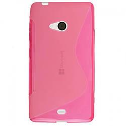 Силиконовый чехол Microsoft Nokia Lumia 540, N105