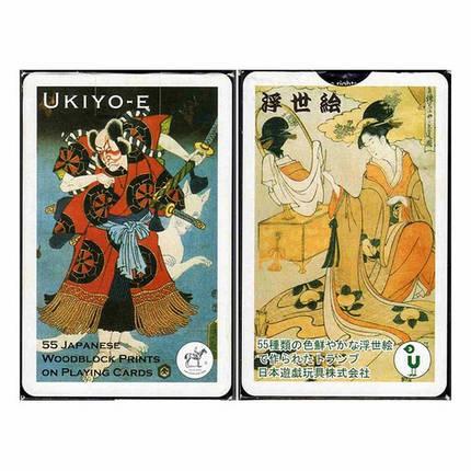 Карты игральные Piatnik Ukiyo-E' Bridge 55 листов, фото 2