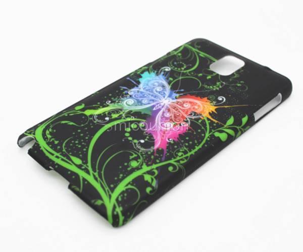 Пластиковый чехол Samsung Galaxy Note 2 N7100, E13