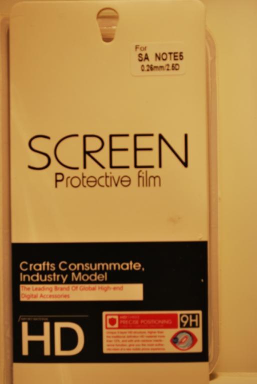 Защитное стекло для Samsung Note 5, F726