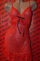 Женское белье , красный пеньюар