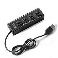 USB Hub хаб 4 порта с выключателями