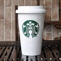 Термочашка чашка керамическая Starbucks, Б96