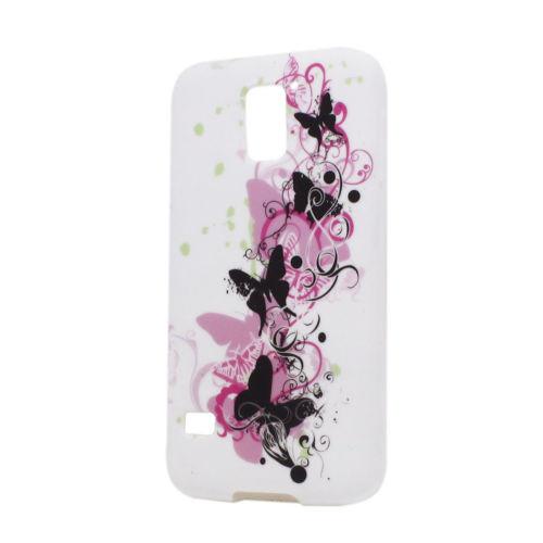 Пластиковый чехол Samsung Galaxy S5 mini G800, E9