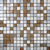 Авантюриновая мозаика для кухни Vivacer GLmix 43