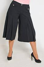 Спідниця-штани жіноча чорна ( Ю 029)
