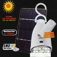 Аварийная лампа GD-5007S на солнечной батарее