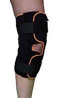 Бандаж для коленного сустава разъемный (с шарнирами и дополн. ремнями фиксации полным раскрытием)ARK 2104 AK