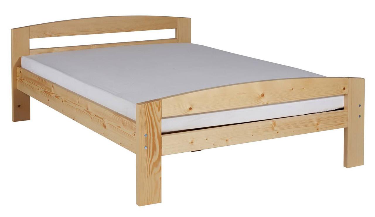Ліжко з масиву дерева 062