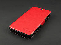 Чехол книжка для Meizu M2 M2 mini красная