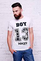 Мужские белые футболки