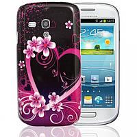 Пластиковый чехол Samsung Galaxy S3 Mini i8190 E22