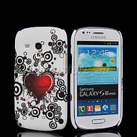 Пластиковый чехол Samsung Galaxy S3 Mini i8190 E21