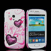 Пластиковый чехол Samsung Galaxy S3 Mini i8190 E10