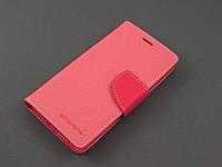 Чехол книжка Goospery для LG Optimus G3s D724 розовый