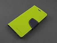Чехол книжка Goospery для LG Optimus G3s D724 зеленый