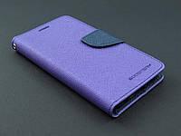 Чехол книжка Goospery для Samsung Galaxy S6 G920f фиолетовый
