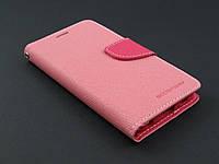 Чехол книжка Goospery для Samsung Galaxy S6 G920f розовый