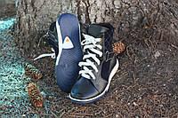 Ботинки завышенные для девочки спортивного стиля на шнуровке