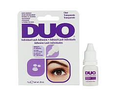 Клей для пучковых ресниц Duo Individual Lash Adhesive Прозрачный