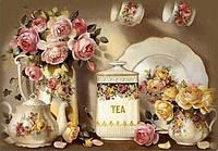Набор алмазной вышивки Чайный натюрморт KLN 50 х 40 см (арт. FS024)