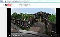 3d видео-ролик об участке