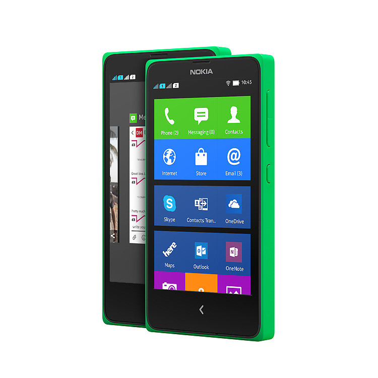 Защитная пленка для Nokia X, F184 5шт
