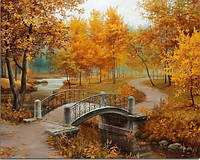Алмазная вышивка Осенний парк KLN 30*40 см (арт. FS008)