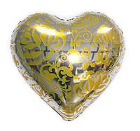 """Фольгированный шар в форме сердца """"Розы"""""""