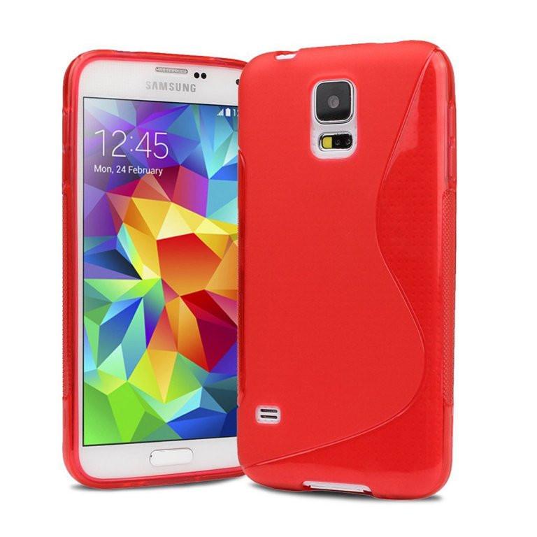 Силіконовий чохол Samsung Galaxy S5 i9600, G121
