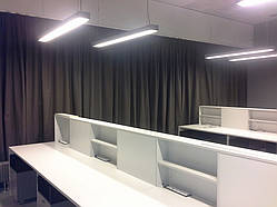 Оформление офисных зон, перегородок и кабинетов 6