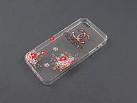 Чехол Lucent для Apple iPhone SE 5 5S Шанэль