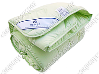 Одеяло 172х205 холлофайбер демисезонное Merkys микрофибра фисташковая