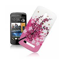 Пластиковый чехол для  HTC Desire 500, QH544