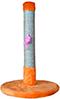Когтеточка (9 цветов), джут, 65 см х Ø 40 см  оранжевый
