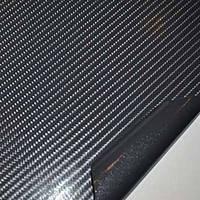 Карбоновая пленка Arsana 4D черная с микроканалами под лаком