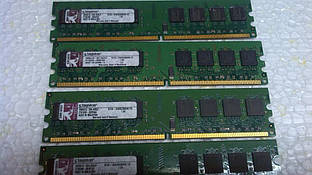 Модуль памяти Kingston DDR2 1Gb PC2-4200 Оригинал