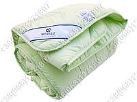 Одеяло 200х220 холлофайбер демисезонное Merkys микрофибра фисташковая