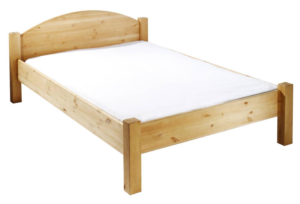 Кровать из массива дерева 064