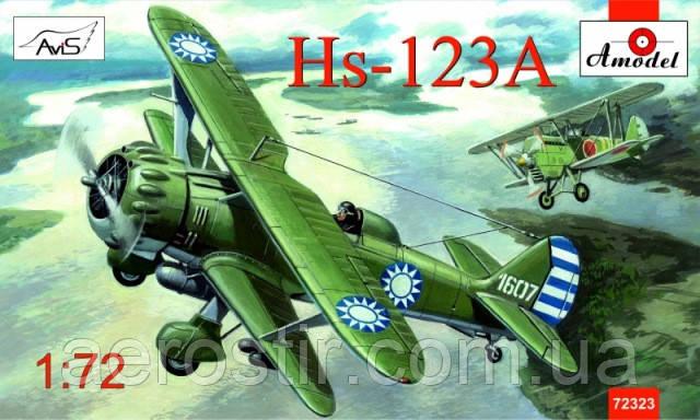 Henschel Hs-123A 1/72 AMODEL 72323