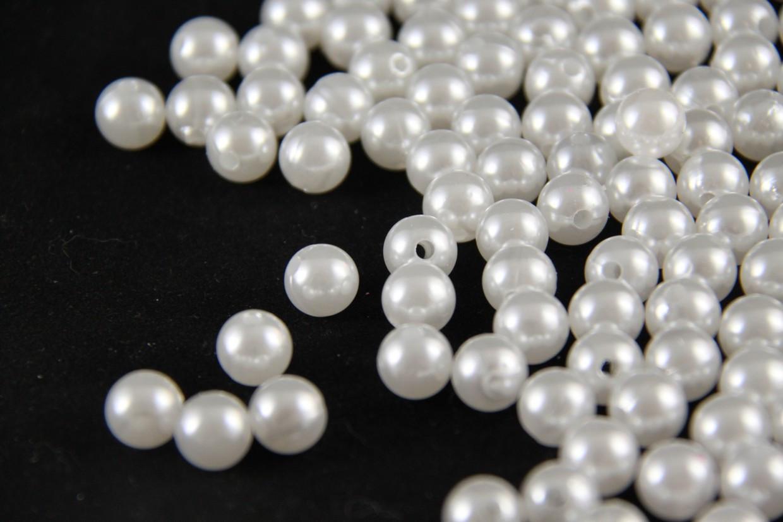 Перли штучний білий 10 мм