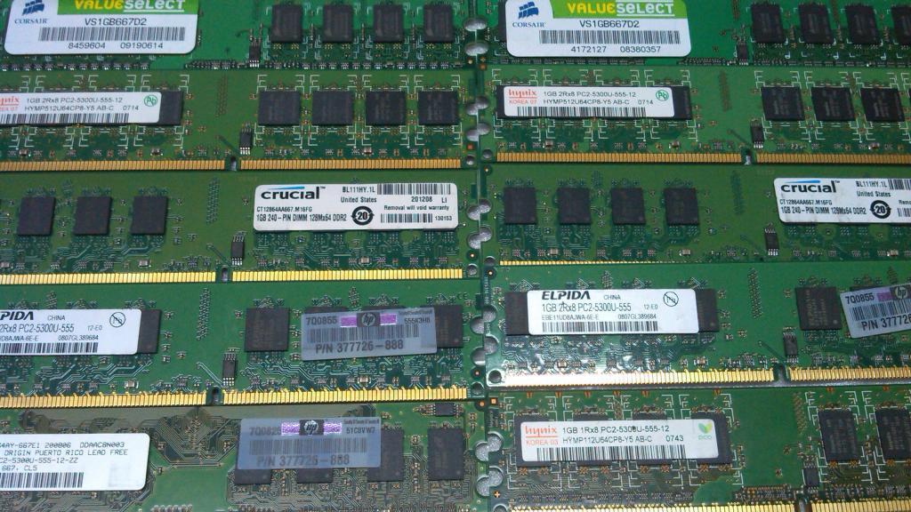 Модуль памяти DDR2 1Gb ОПИСАНИЕ