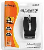 Мышка оптическая A4tech K4-59MD USB для ноутбука