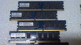 Модуль памяти Nanya DDR2 1Gb PC2-6400 800MHz Оригинал