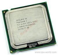 Процессор 2 ядра Intel PENTIUM D 915 2.8GHz LGA775