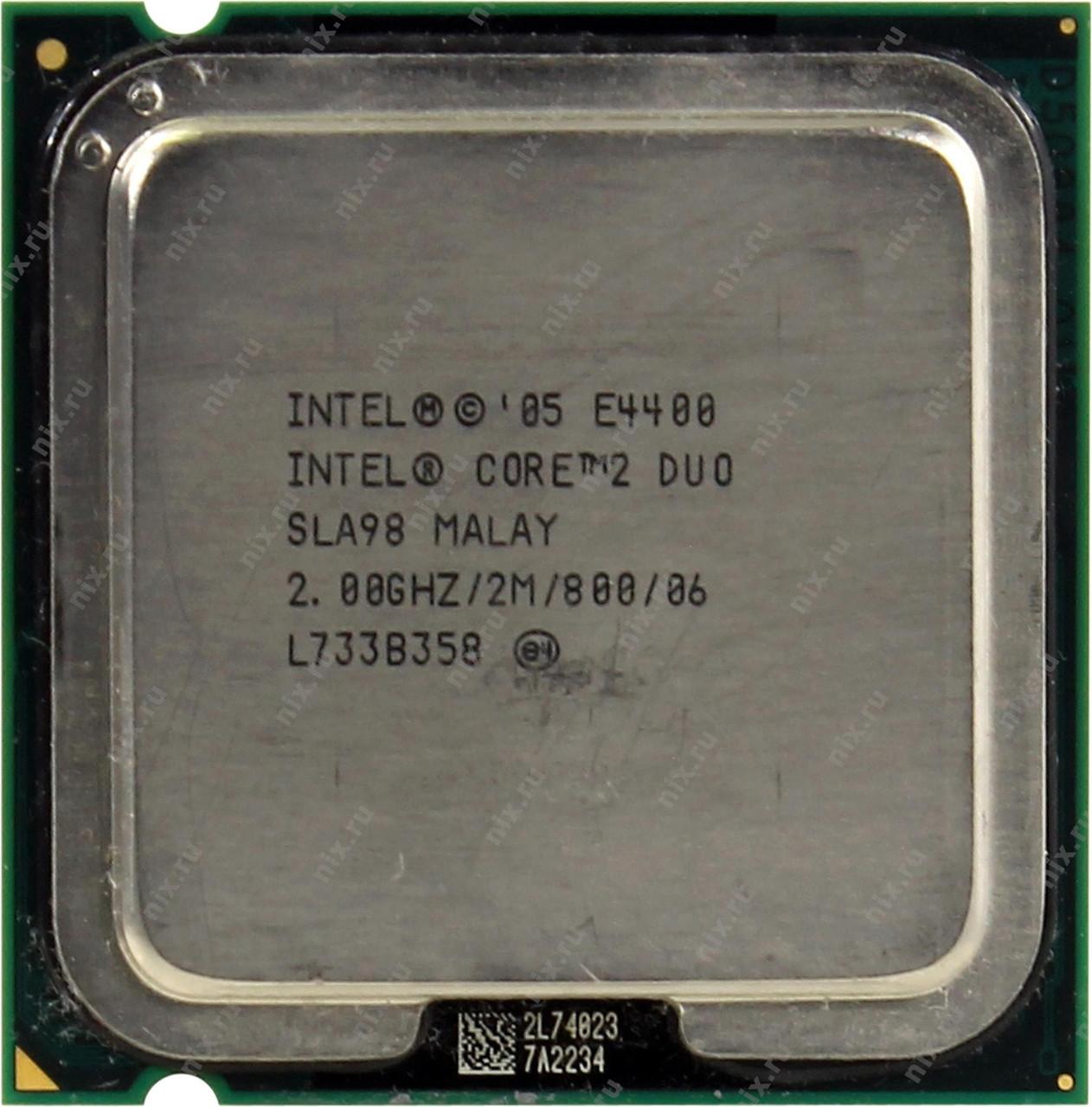 Процессор Intel Core2Duo E4400 2-ядра LGA775